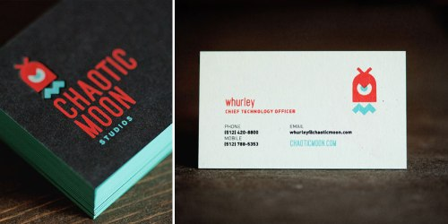Black Red Aqua Business Cards 500x250 Business Card Ideas and Inspiration #7