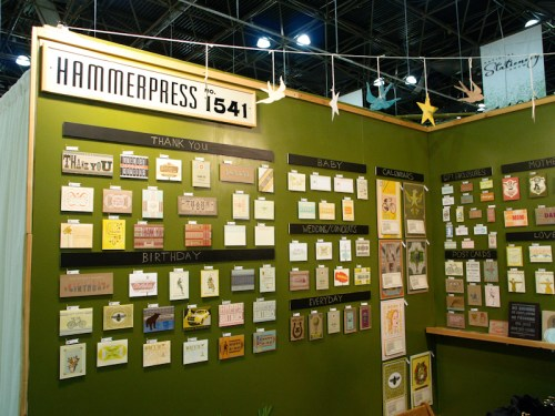 National Stationery Show Hammerpress 500x375 National Stationery Show 2011   Part 6