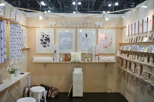National Stationery Show Ink Wit3 500x333 National Stationery Show 2011   Part 7