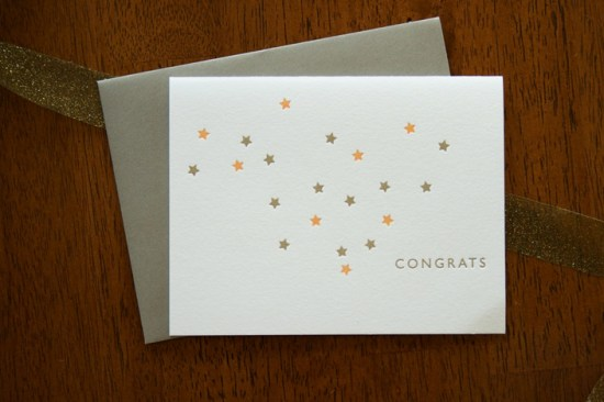 Colleen Ellse Congrats Card 550x366 Pretty Note Cards from Colleen Ellse