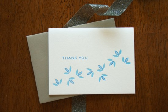 Colleen Ellse Thank You Card 550x366 Pretty Note Cards from Colleen Ellse