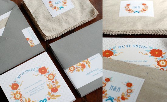 Oh So Beautiful Paper Fabric Moving Announcements Detail 550x338 Our Moving Announcements
