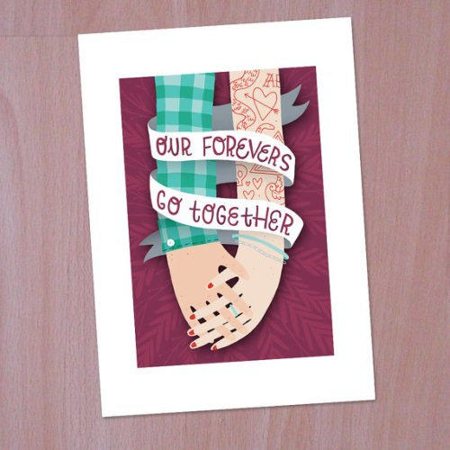 Our Forevers Go Together Print 500x500 {today I love...}