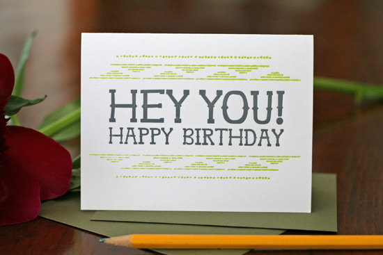 Tabletop Made Happy Birthday Card Bright & Colorful Cards from Tabletop Made
