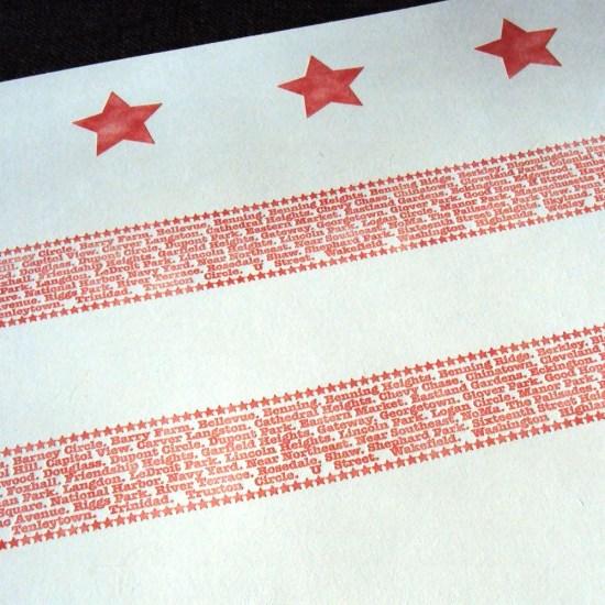 dc flag print 550x550 DC Paper Love
