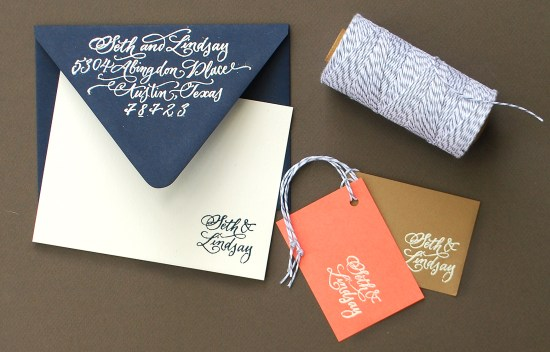 embossing5 550x352 DIY Tutorial: Embossed Custom Stationery