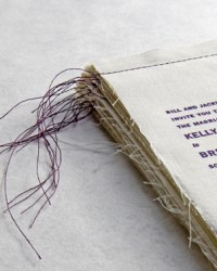 Custom Non-Traditional Wedding Invitations by Bird and Banner