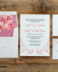 Papercrane Blackbird Wedding Collection