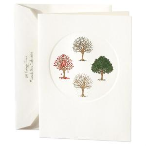 Crane Co Stationery Engraved Holiday Card Four Seasons 300x300 2011 Holiday Card Round Up, Part 2