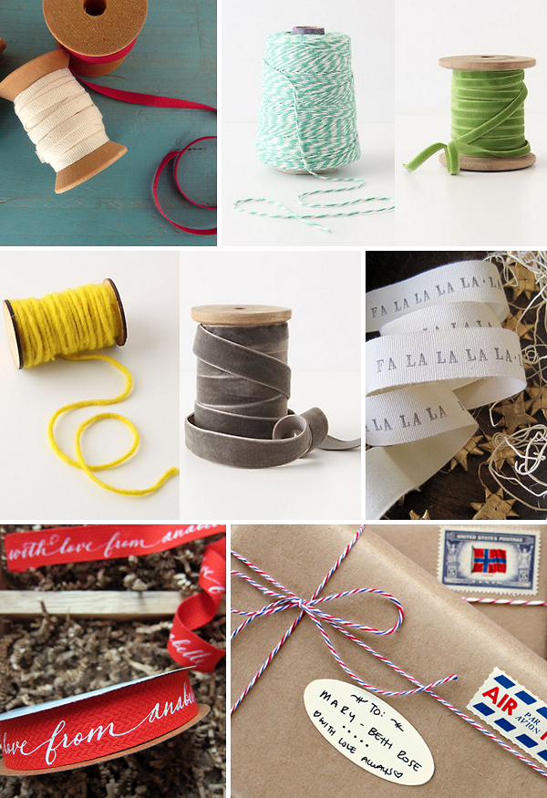 Holiday Gift Wrap Ideas Ribbon Holiday Gift Wrap Inspiration, Part 3