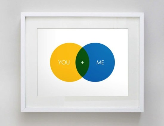 Akimbo Venn Diagram Valentines Day Print 550x425 Seasonal Stationery: Valentines Day Cards, Part 5