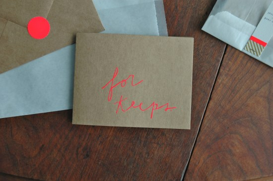 Shanna Murray For Keeps Valentines 550x365 Seasonal Stationery: Valentines Day Cards