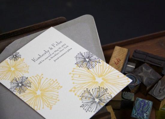 Smudge Ink Wedding Invitations Floral Lenox 550x395 Wedding Invitations by Smudge Ink