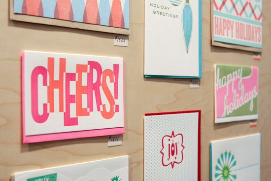 NSS 2012 Anemone Letterpress 11 550x367 National Stationery Show 2012, Part 9
