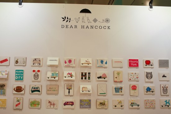 NSS 2012 Dear Hancock 4 550x366 National Stationery Show 2012, Part 8