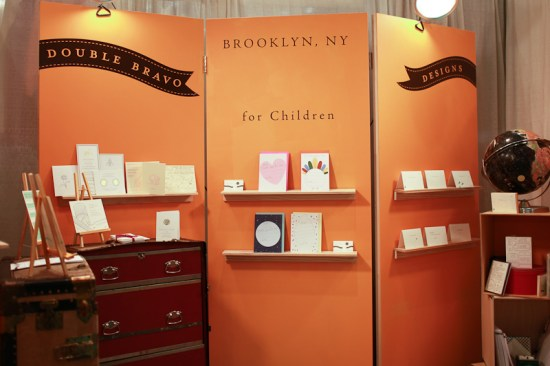 NSS 2012 Double Bravo 1 550x366 National Stationery Show 2012, Part 11