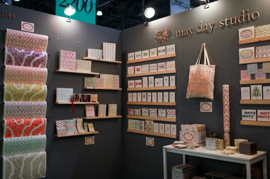 NSS 2012 May Day Studio 2 550x366 National Stationery Show 2012, Part 9