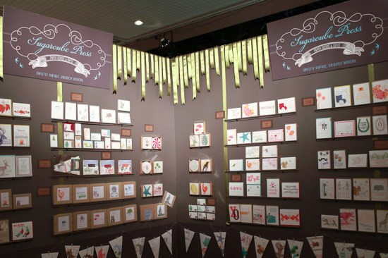 NSS 2012 Sugarcube Press 10 550x366 National Stationery Show 2012, Part 9