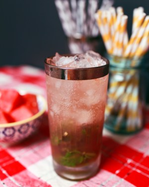 Cocktail Friday Watermelon Mojito 1 300x375 Friday Happy Hour: Watermelon Mojito
