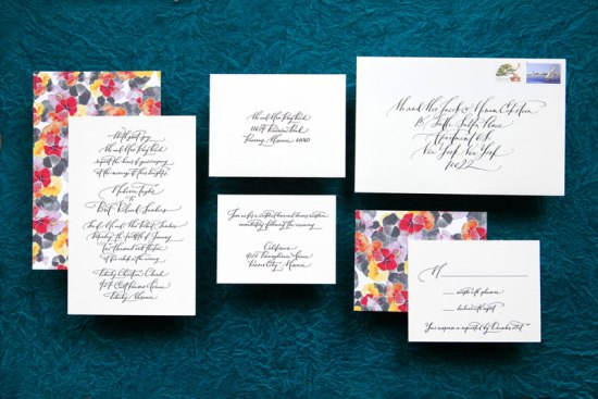 Wedding Invitations Ligature Collection Paperfinger4 550x367 Ligature Wedding Invitation Collection by Paperfinger