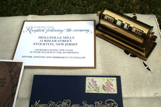 DIY Wood Veneer Wedding Invitations3 550x366 Meg + Bryans DIY Wood Veneer Wedding Invitations