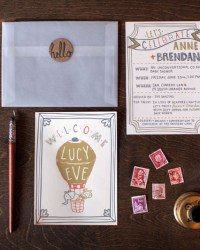 Letterpress Wedding Invitations by 9th Letter Press (18)