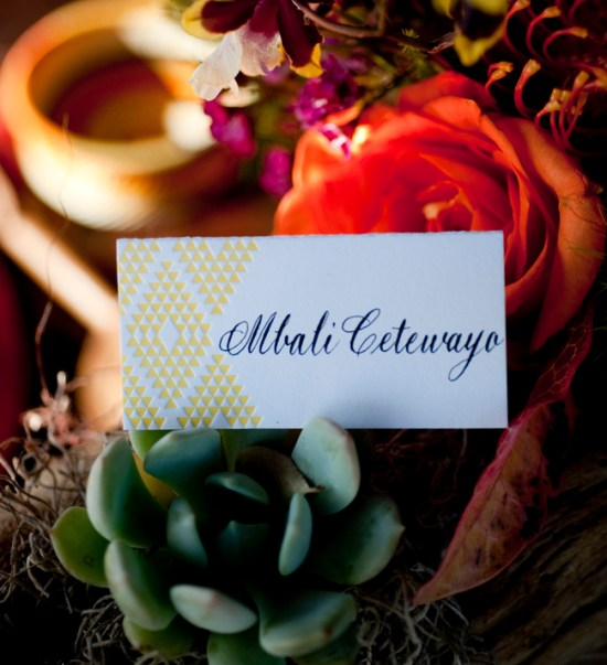 Geometric Wedding Escort Cards Press Engaged Zoom Photography 550x603 Wedding Stationery Inspiraton: Geometric