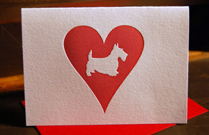 scottie dog1 Stationery A – Z: Pet Sympathy Cards