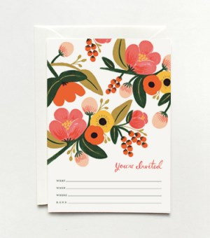 garden party 300x340 Stationery A – Z: General Party Invitations
