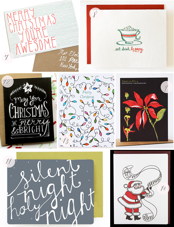 2012 Holiday Cards Part6 Seasonal Stationery: 2012 Holiday Cards, Part 3