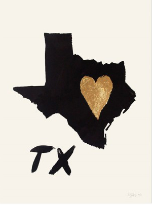 Rocket Ink Home Heart Texas Quick Pick: Rocket Ink