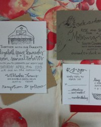 Wedding Invitation Designers - Grey Snail Press (16)