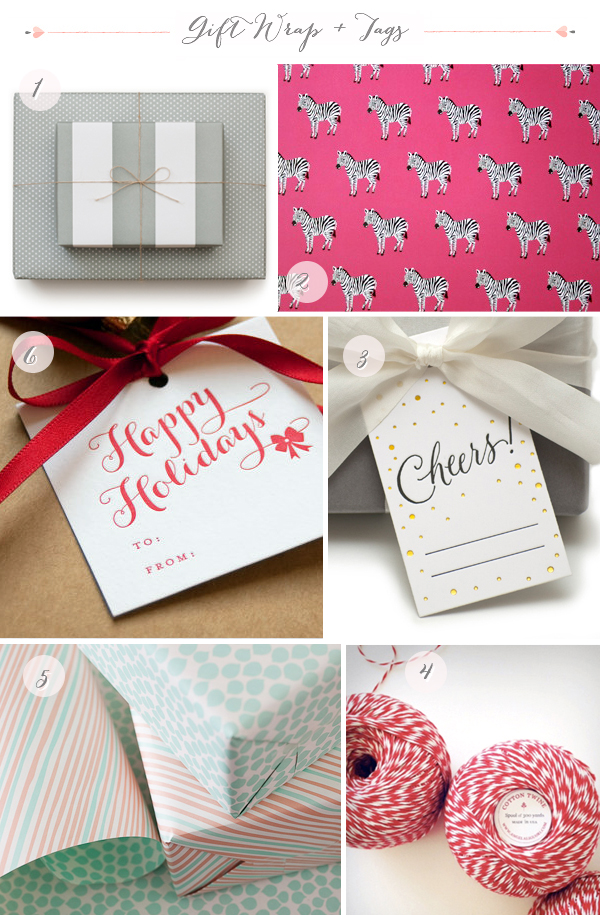 2012 Holiday Gift Wrap Part1 Seasonal Stationery: Holiday Wrapping Paper + Gift Tags