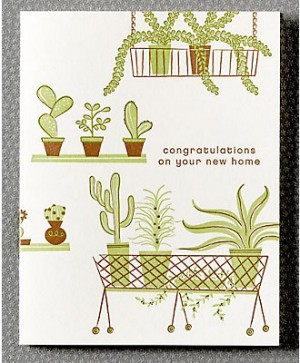 Hello Lucky New Home Card 300x363 Stationery A – Z: New Home Congratulations Cards