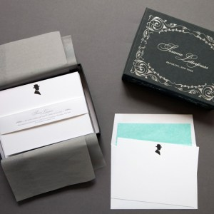 Sesame Letterpress Silhouette Stationery Man 300x300 Quick Pick: Sesame Letterpress Silhouette Stationery