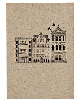 city card Stationery A – Z: New Home Congratulations Cards