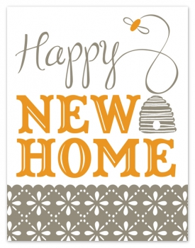 newhome Stationery A – Z: New Home Congratulations Cards