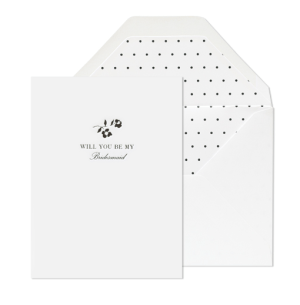 will you be my bridesmaid 300x305 Stationery A – Z: Bridesmaid and Maid of Honor Cards