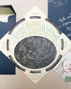 Constellation Starfinder Birth Announcements Ladyfingers Letterpress Oh So Beautiful Paper4 300x375 Sophies Constellation Starfinder Birth Announcements