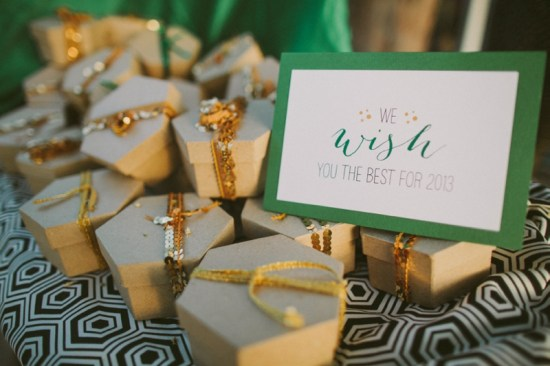 Emerald Green Wedding Favors A and P Designs Becka Robinson for Studio222 Photography 550x366 Wedding Stationery Inspiration: Emerald
