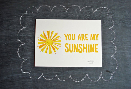 Ink Meets Paper Sunshine Card Quick Pick: Ink Meets Paper