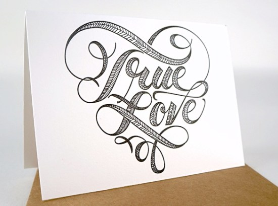 And Here We Are Love Card 550x409 Stationery A – Z: Engagement Congratulations Cards