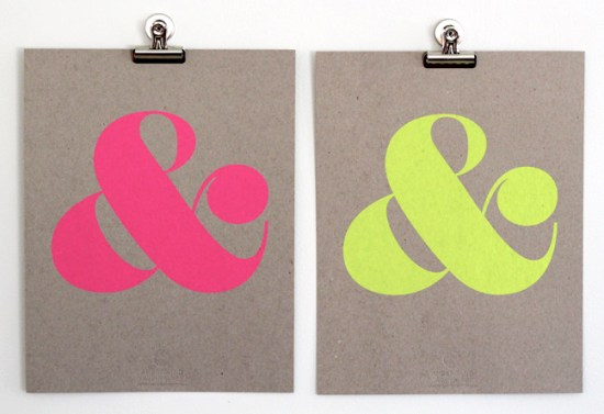 Shop Ampersand Neon Ampersands 550x377 Quick Pick: Shop Ampersand