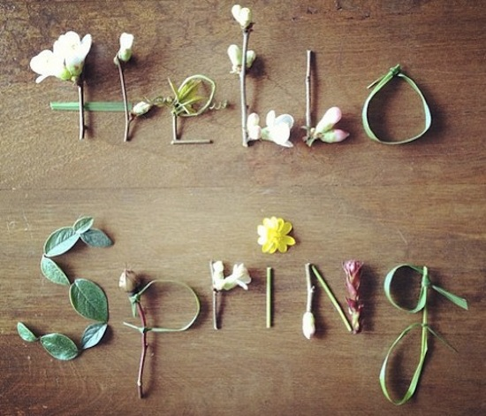 Hello Spring {happy weekend!}