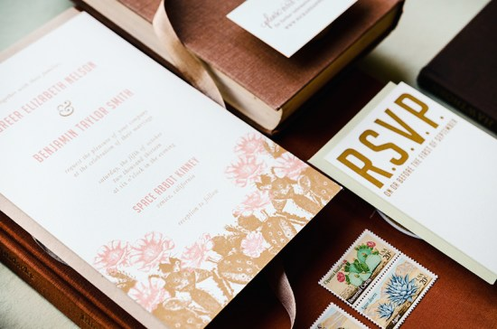 Antiquaria Letterpress Wedding Invitation Collection10 550x364 Antiquaria Letterpress Wedding Invitation Collection