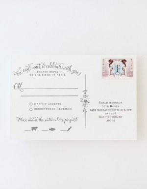 Antiquaria Letterpress Wedding Invitation Collection13 300x384 Antiquaria Letterpress Wedding Invitation Collection
