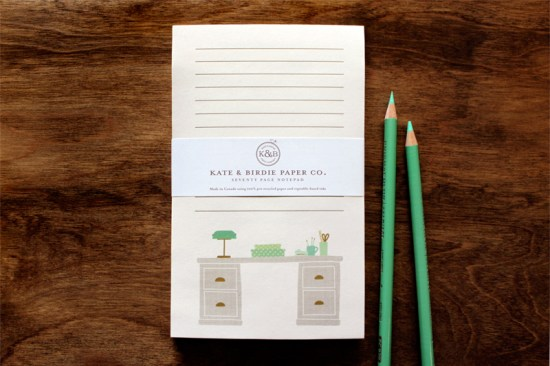 NSS 2013 Sneak Peek Kate and Birdie Notepads6 550x366 NSS Sneak Peek: Kate & Birdie