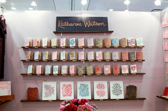 National Stationery Show 2013 Oh So Beautiful Paper Katharine Watson 1 550x366 National Stationery Show 2013, Part 9