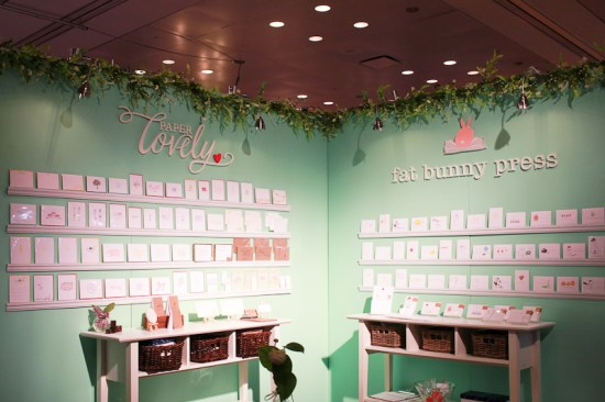 National Stationery Show 2013 Oh So Beautiful Paper Paper Lovely Fat Bunny Press 2 550x366 National Stationery Show 2013, Part 7