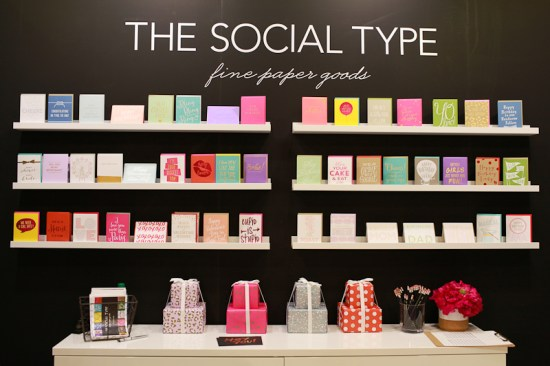 National Stationery Show 2013 Oh So Beautiful Paper The Social Type 1 550x366 National Stationery Show 2013, Part 6